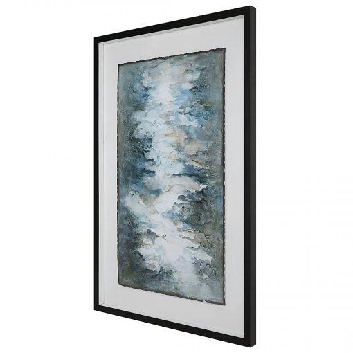 Uttermost Lakeside Grande Framed Abstract Print