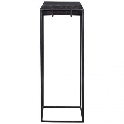 Uttermost Telone Black Large Pedestal
