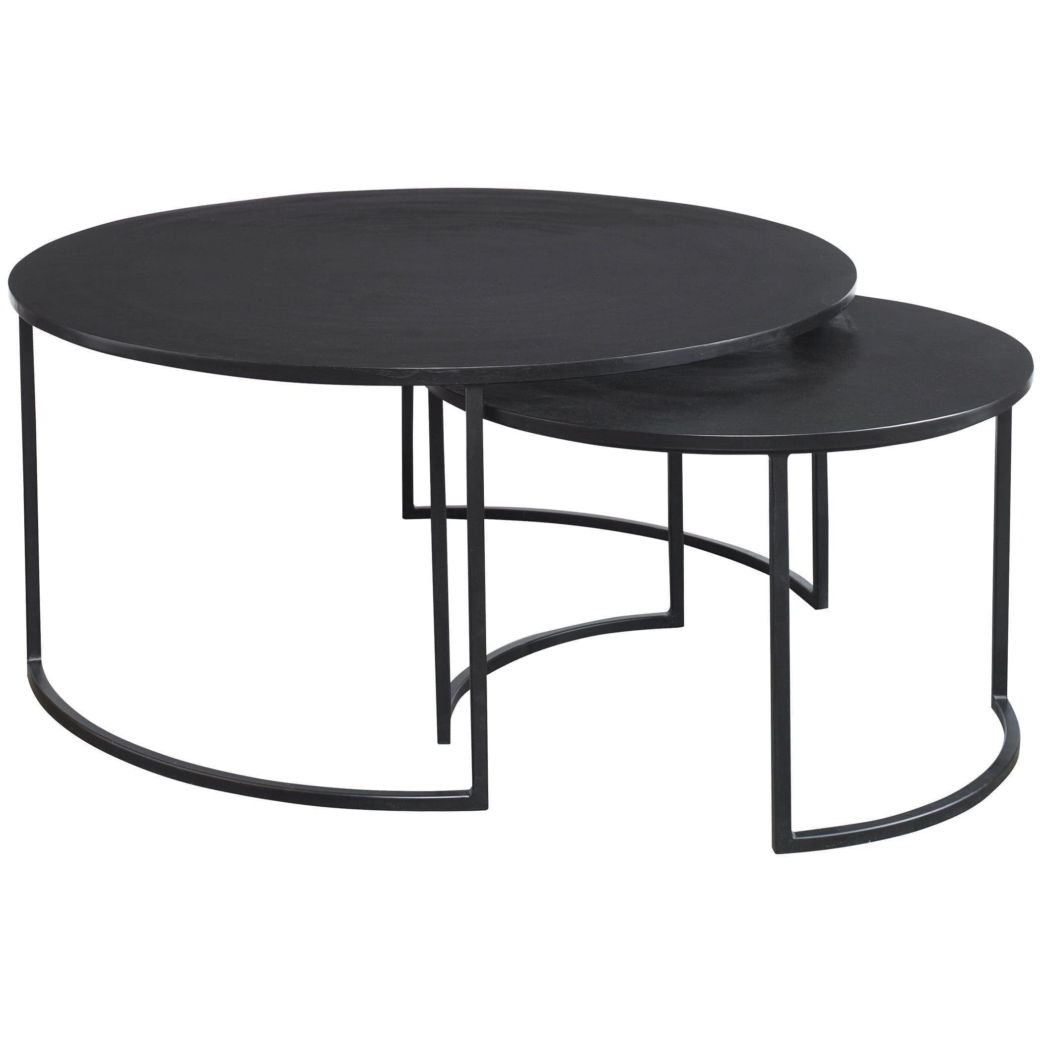 Uttermost Barnette Modern Nesting Coffee Tables S/2