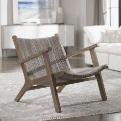 Uttermost Aegea Rattan Accent Chair