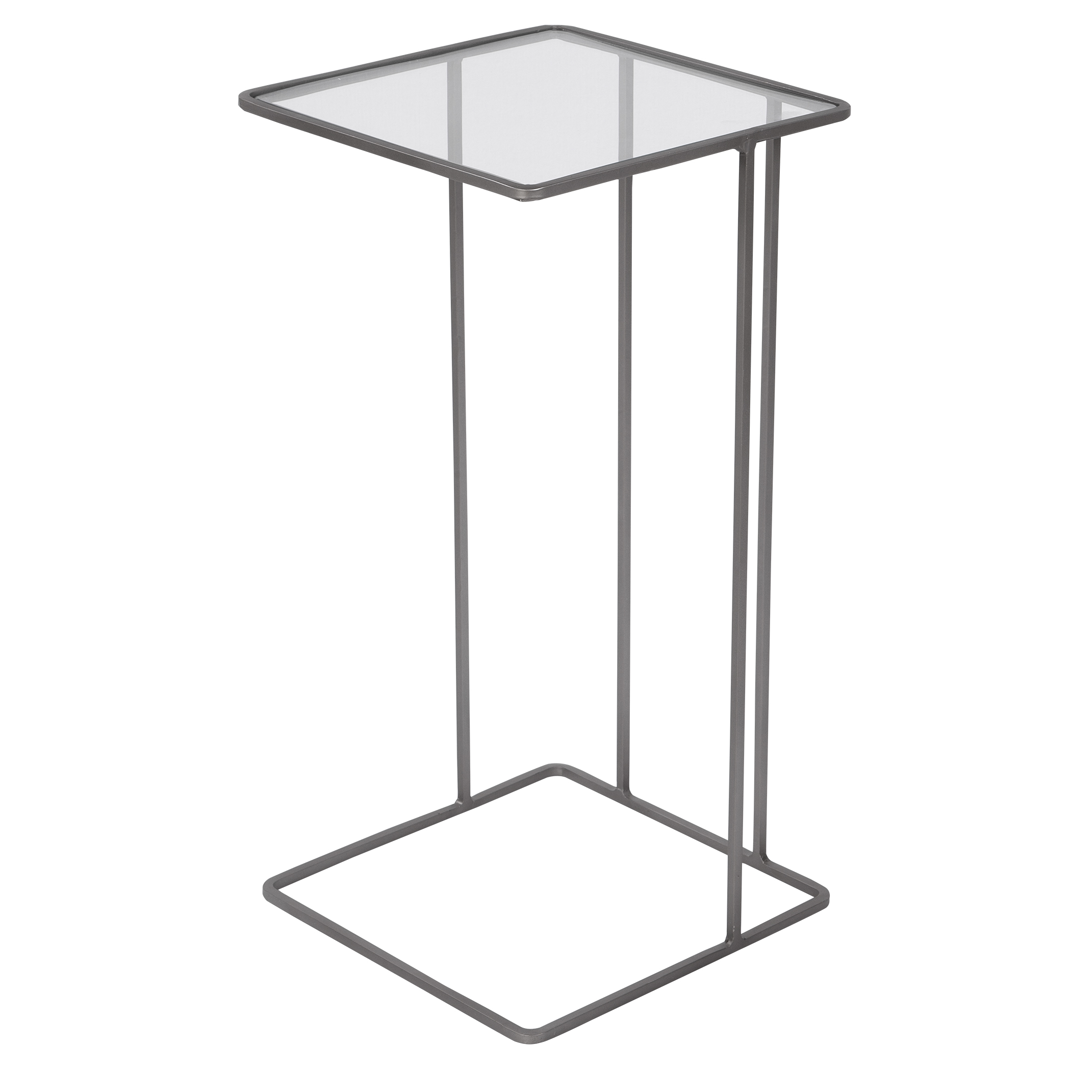 Uttermost Cadmus Pewter Accent Table