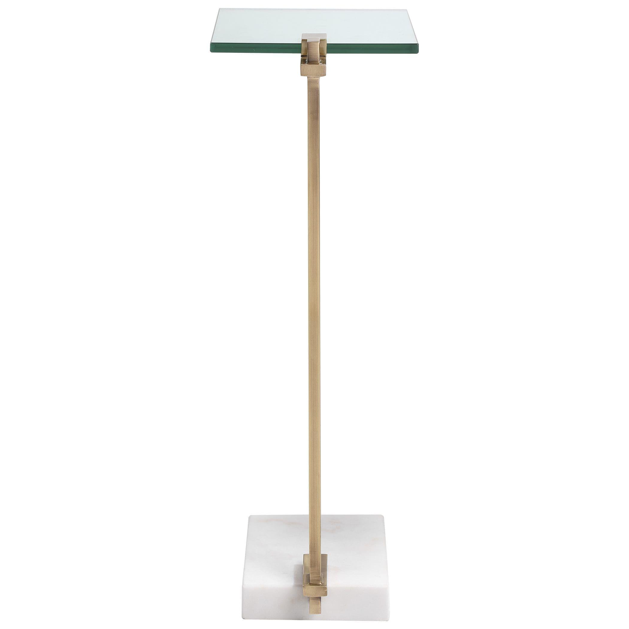 Uttermost Butler Brass Accent Table