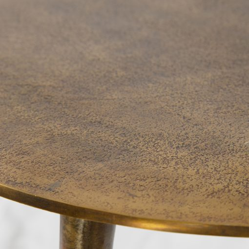 Uttermost Kasai Gold Coffee Tables, S/3