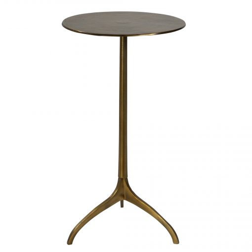 Uttermost Beacon Gold Accent Table
