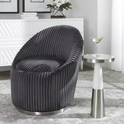 Uttermost Fortier Nickel Accent Table
