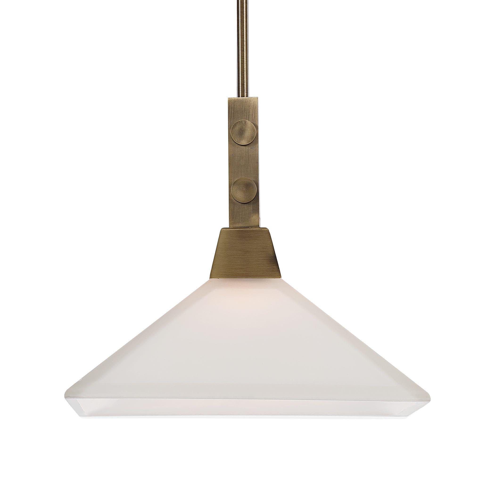 Uttermost Brookdale Industrial 1 Light Pendant