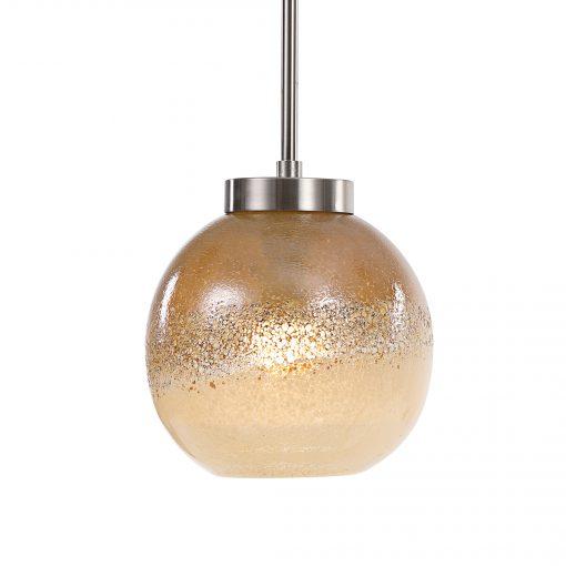 Uttermost Melissa Golden Amber 1 Light Pendant