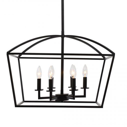 Uttermost Clayton 6 Light Lantern Pendant