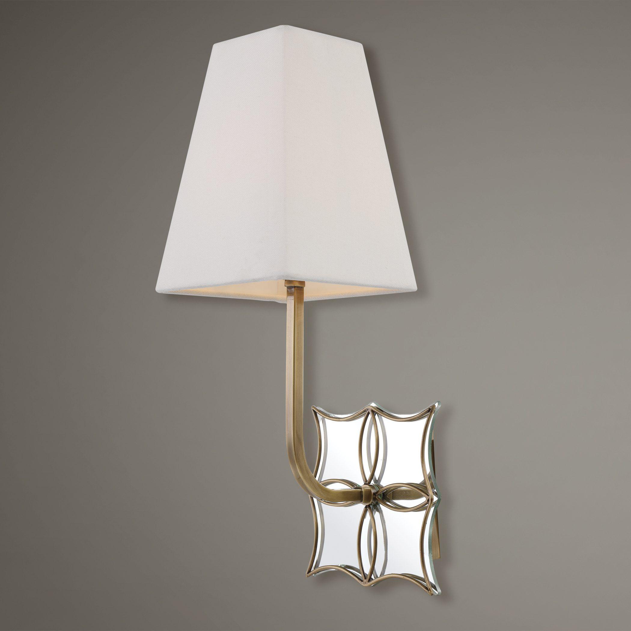 Uttermost Theodora Brass 1 Light Sconce