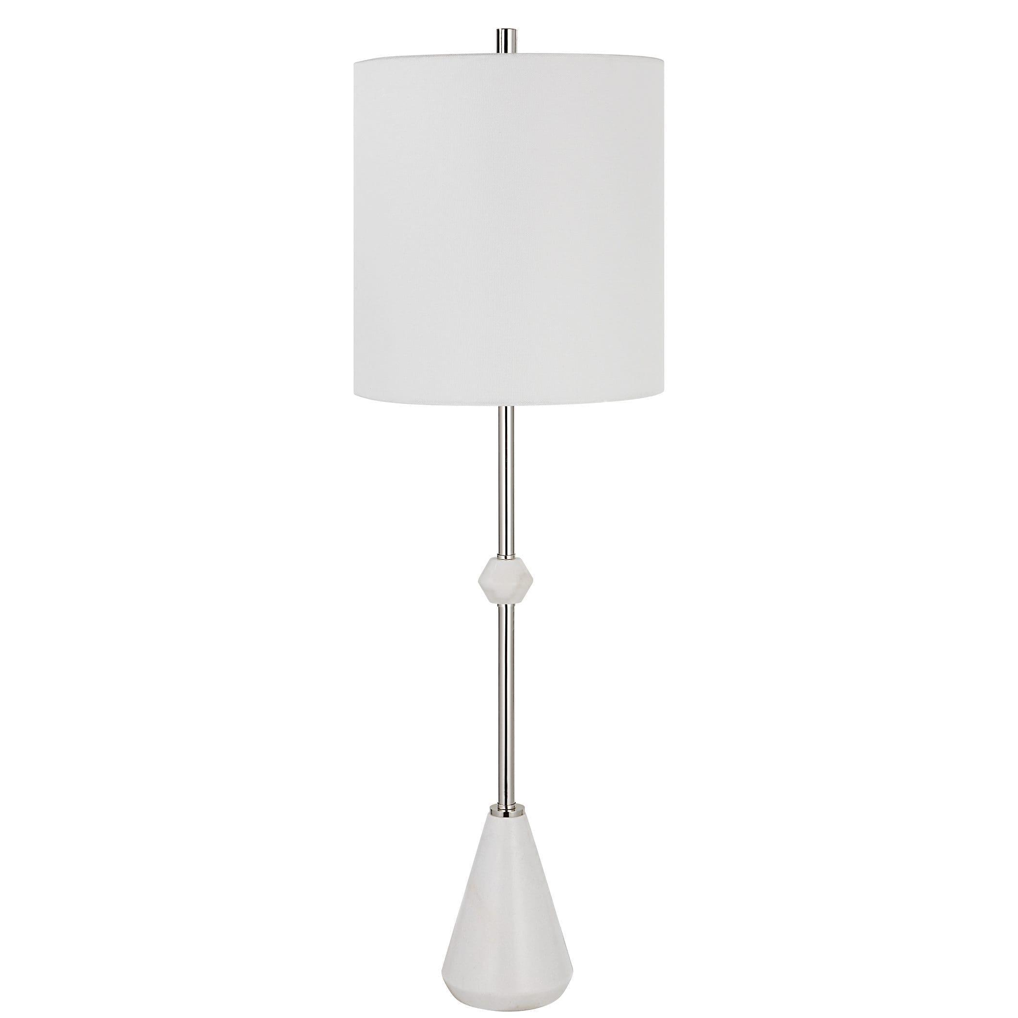 Uttermost Chantilly Modern White Buffet Lamp