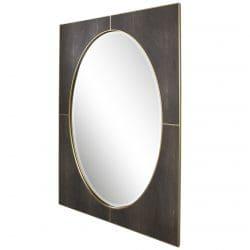 Uttermost Cyprus Gray Shagreen Mirror