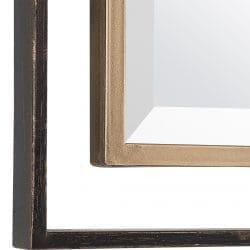 Uttermost Carrizo Gold & Bronze Rectangle Mirror