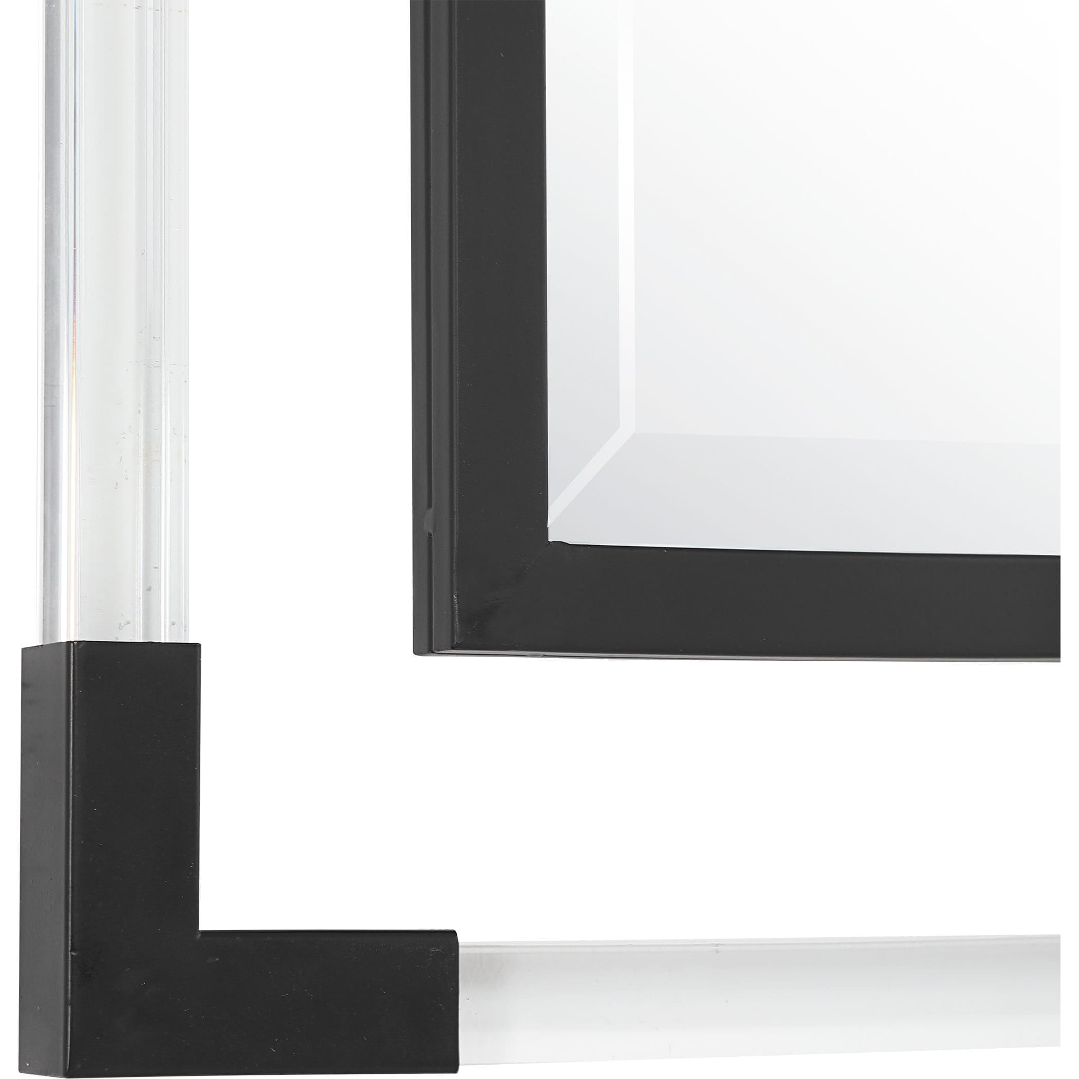 Uttermost Balkan Black Iron Mirror