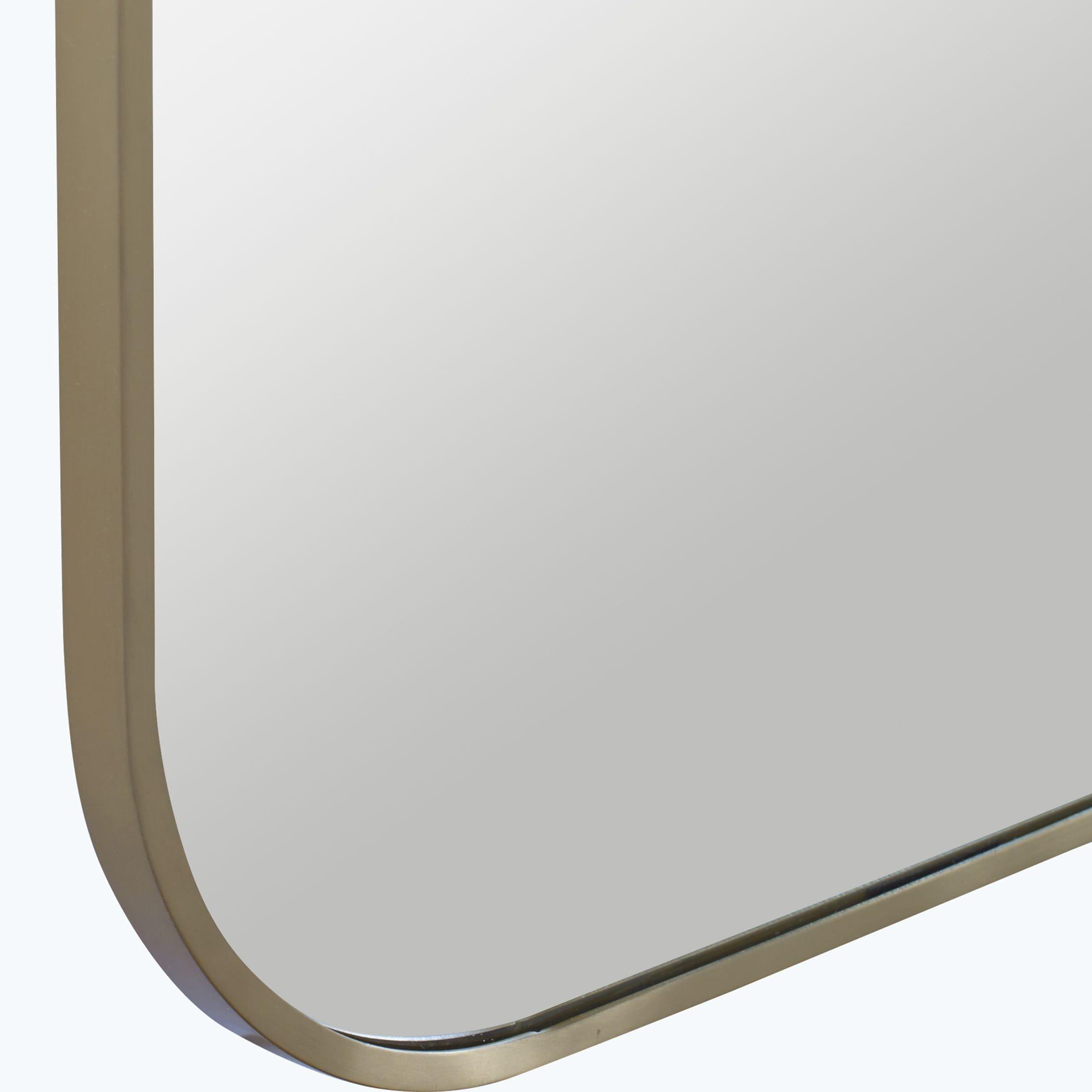 Uttermost Taft Plated Brass Mirror