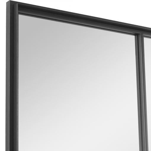 Uttermost Rousseau Iron Window Mirror