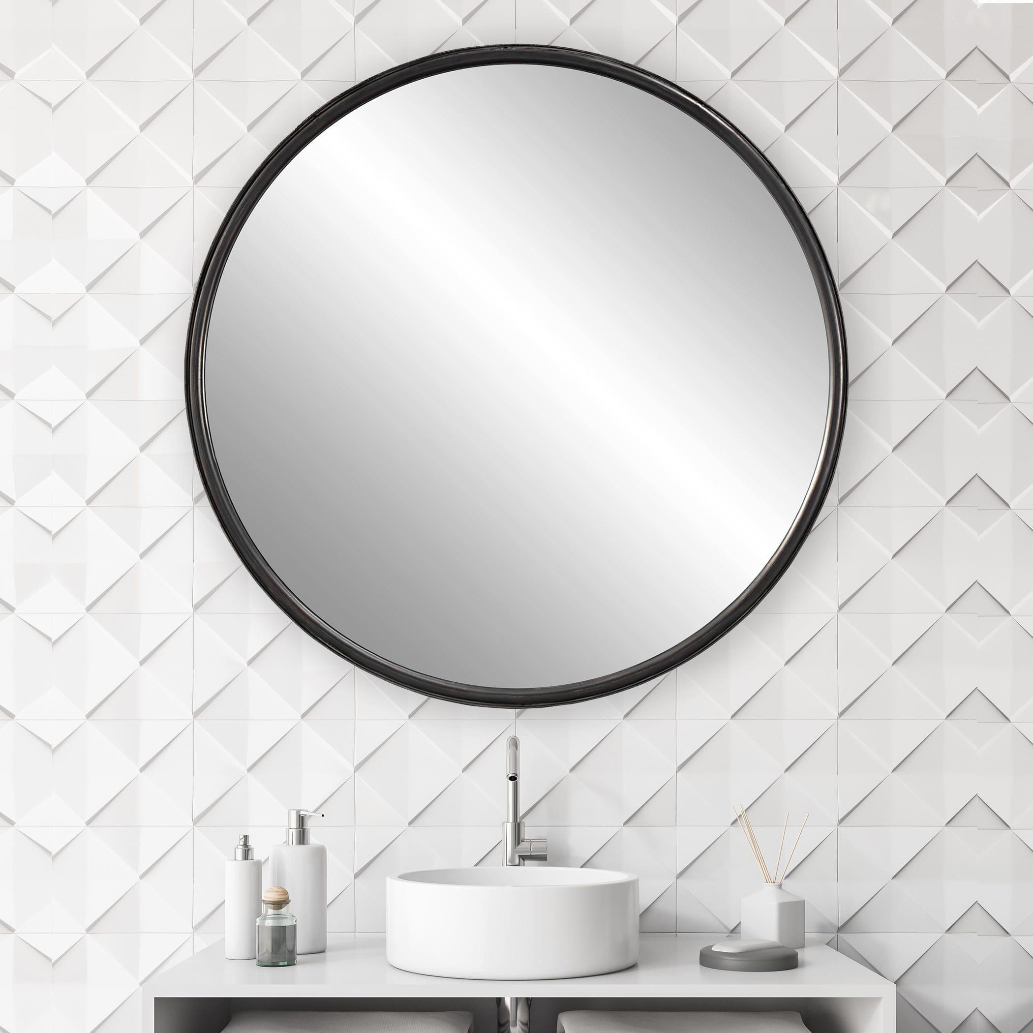 Uttermost Dawsyn Round Mirror