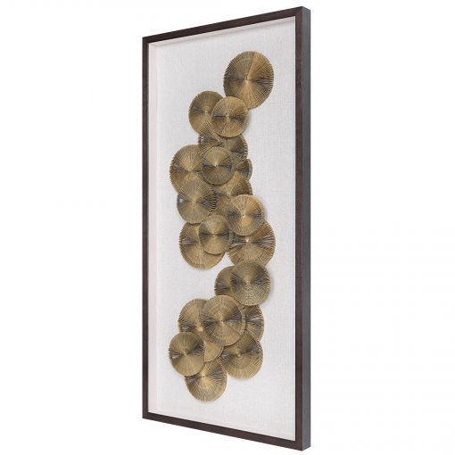 Uttermost The Times Shadow Box Wall Art