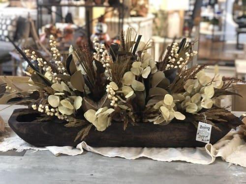 Fall bowl arrangement