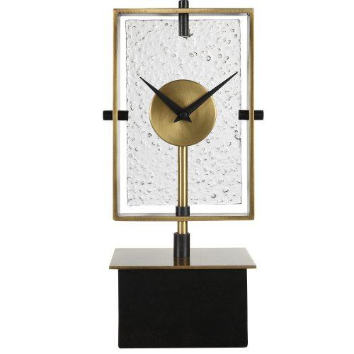Uttermost Arta Modern Table Clock