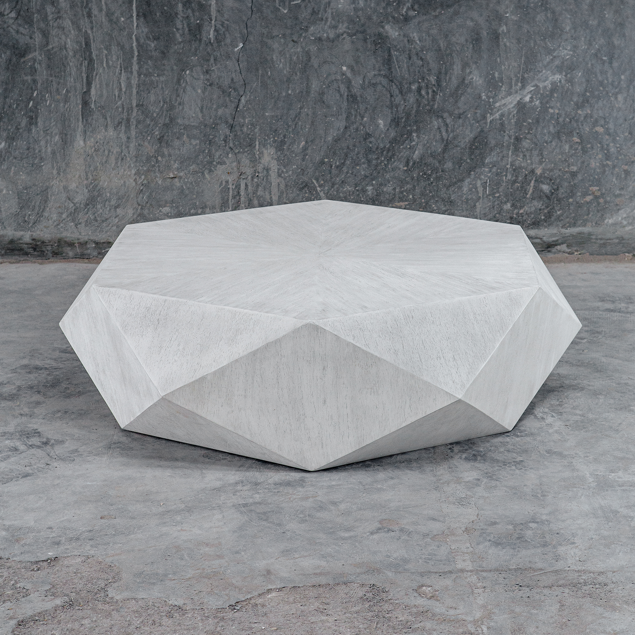 Uttermost Volker White Coffee Table