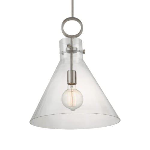 Uttermost Imbuto 1 Light Glass Funnel Pendant