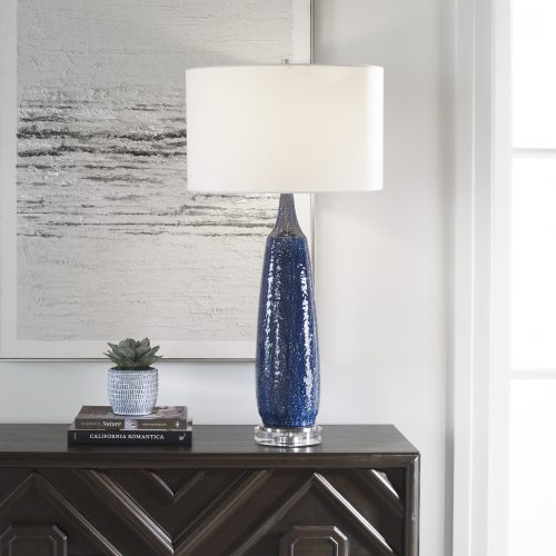 Uttermost Newport Cobalt Blue Table Lamp