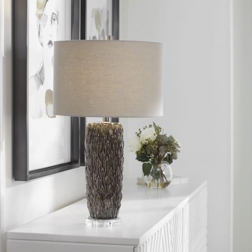 Uttermost Nettle Textured Table Lamp