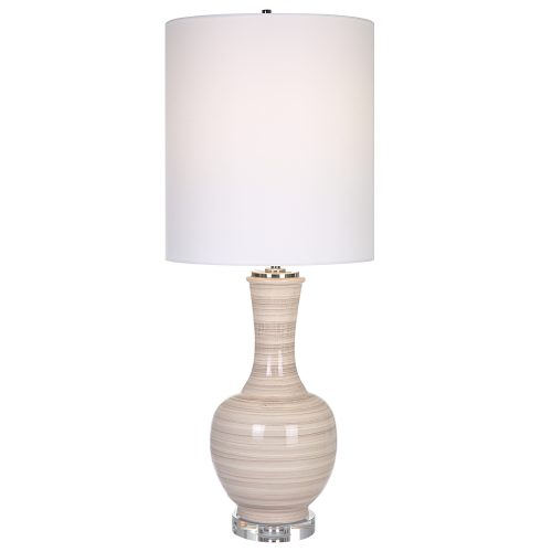 Uttermost Chalice Striped Table Lamp