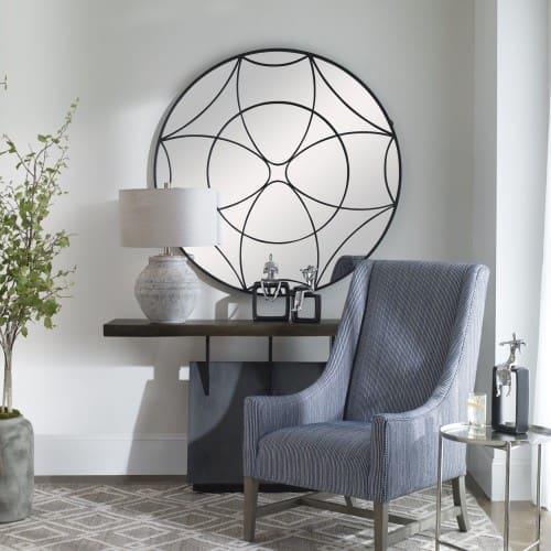 Uttermost Jocasta Mirrored Circular Wall Decor