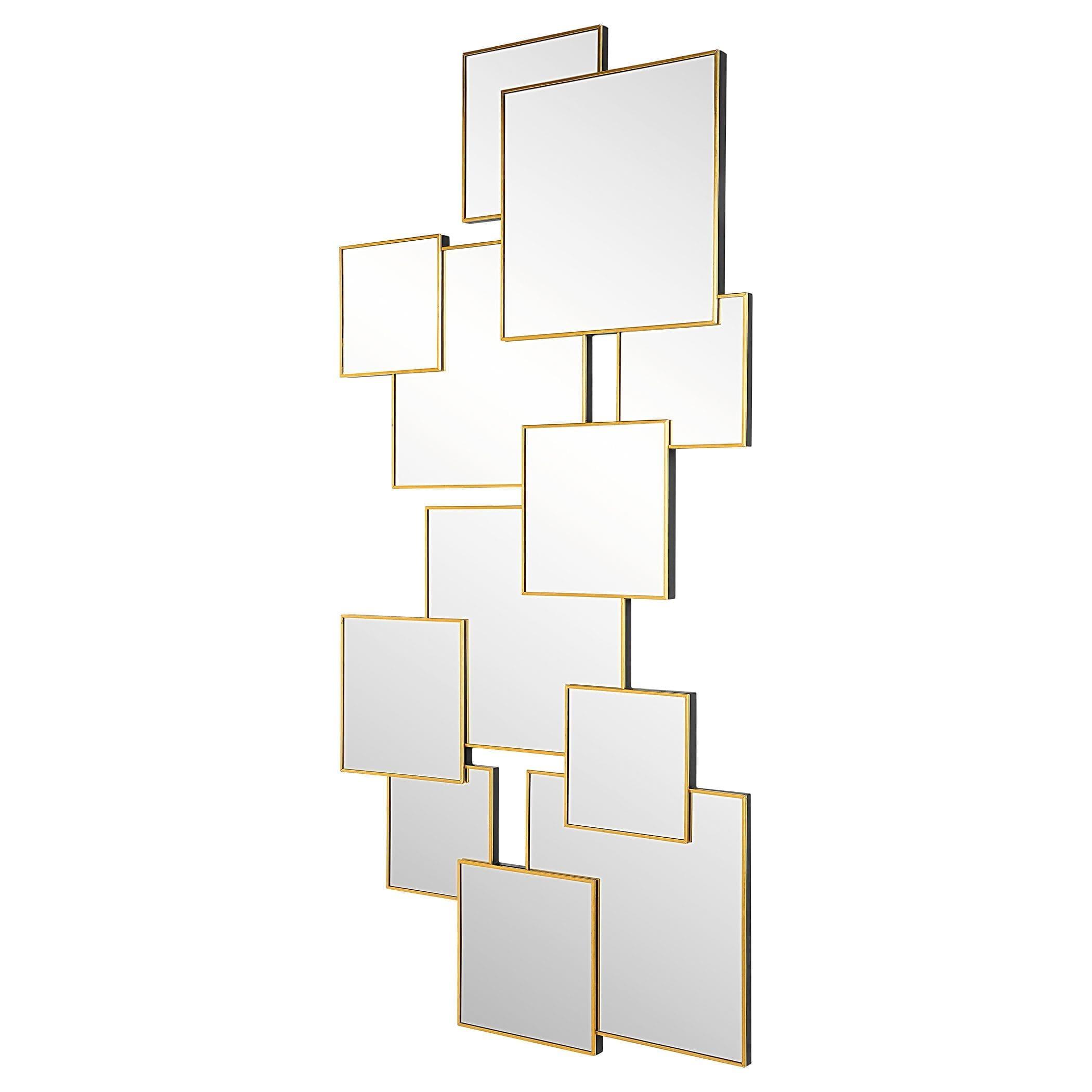 Uttermost Soren Copper Squares Mirror