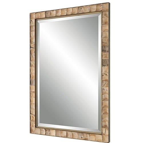 Uttermost Cocos Coconut Shell Mirror