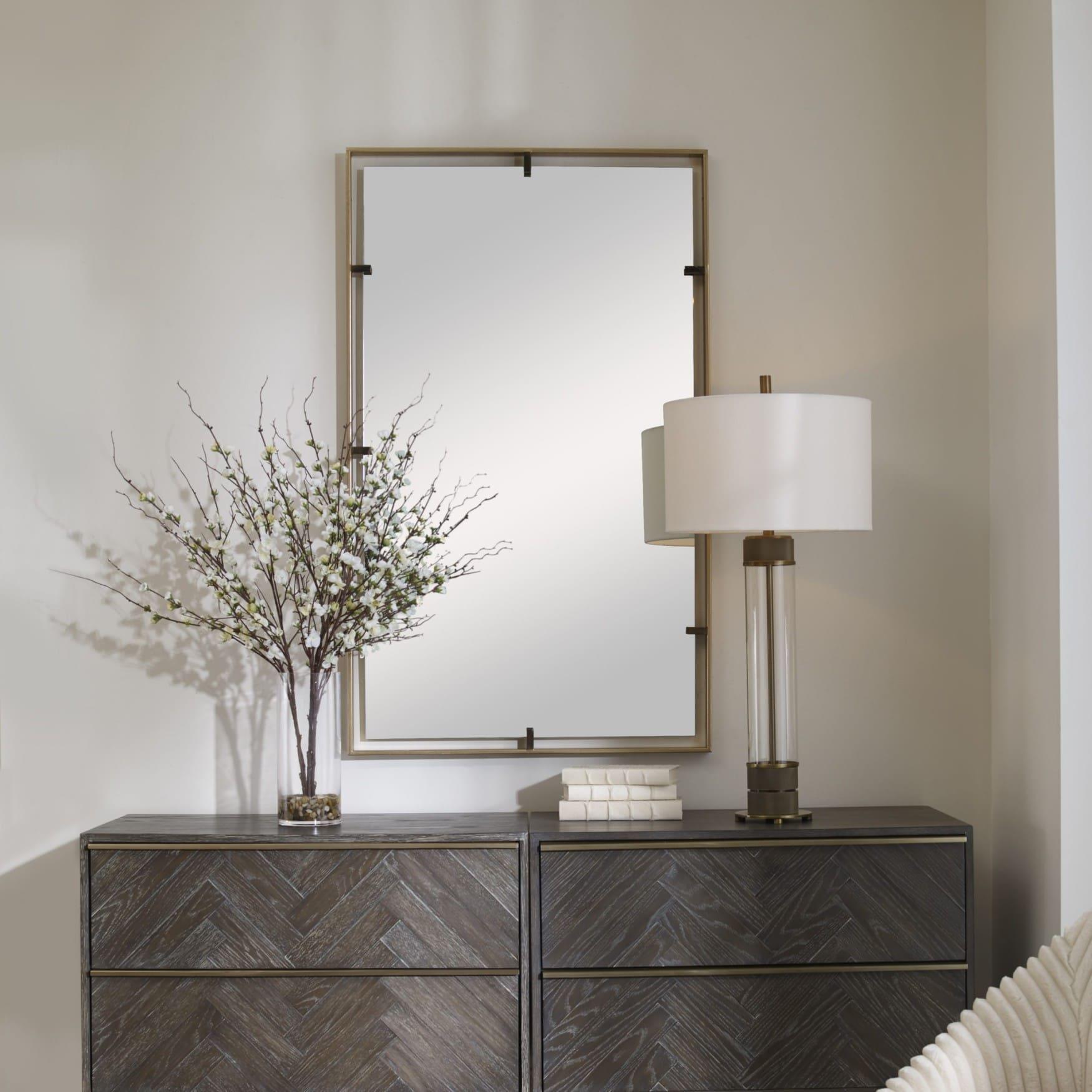 Uttermost Egon Gold Wall Mirror