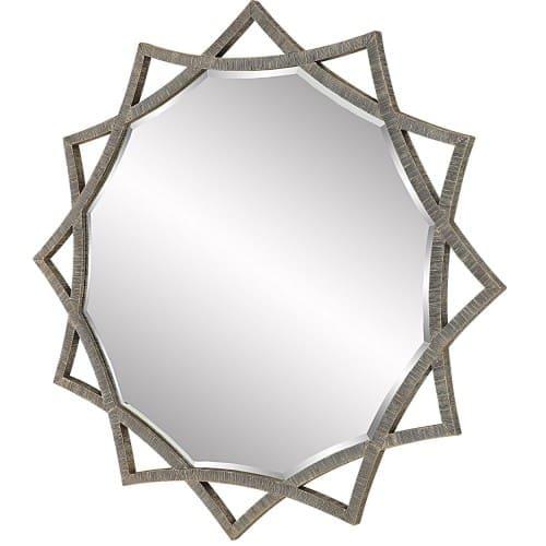 Uttermost Abanu Antique Gold Star Mirror
