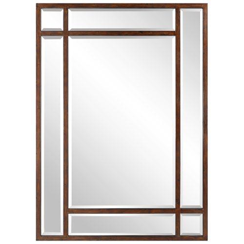 Uttermost Adelio Rectangular Iron Mirror