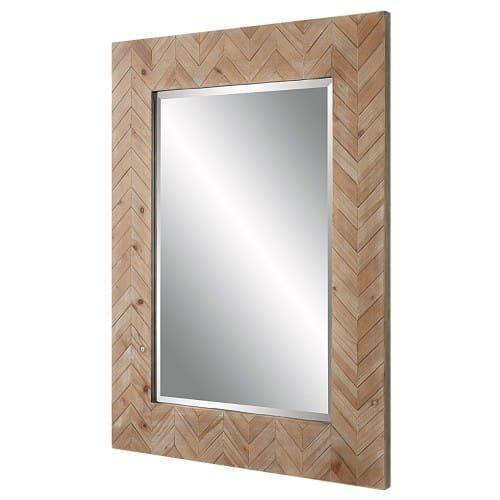 Uttermost Demetria Wooden Mirror, Small