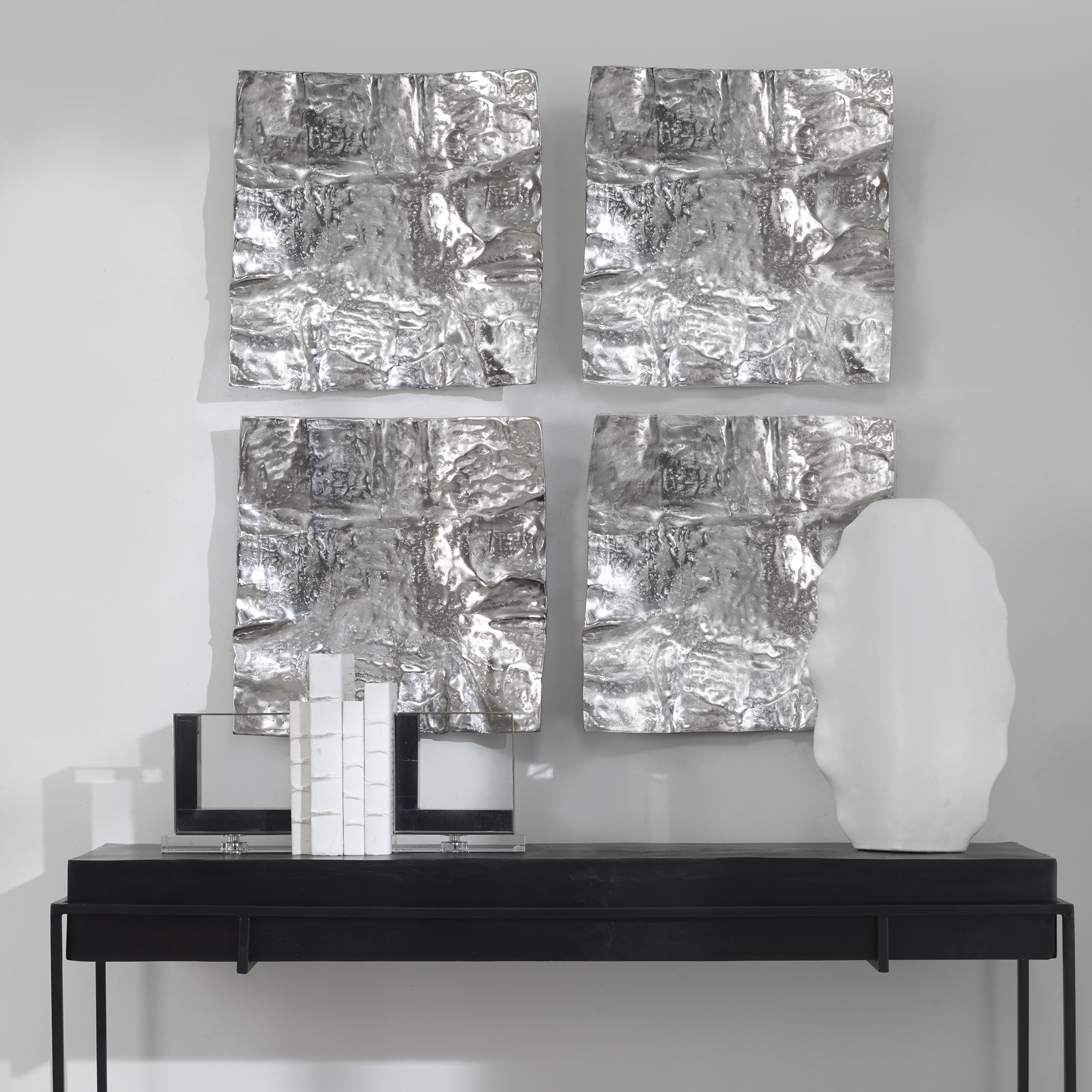 Uttermost Archive Nickel Wall Decor