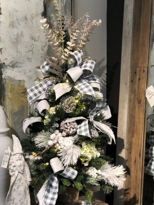 Small Christmas Tree Holiday Floral