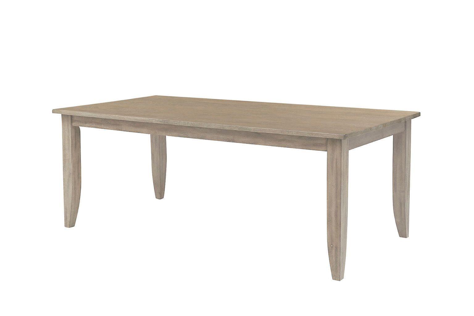 """80"""" LARGE RECTANGULAR LEG TABLE"""