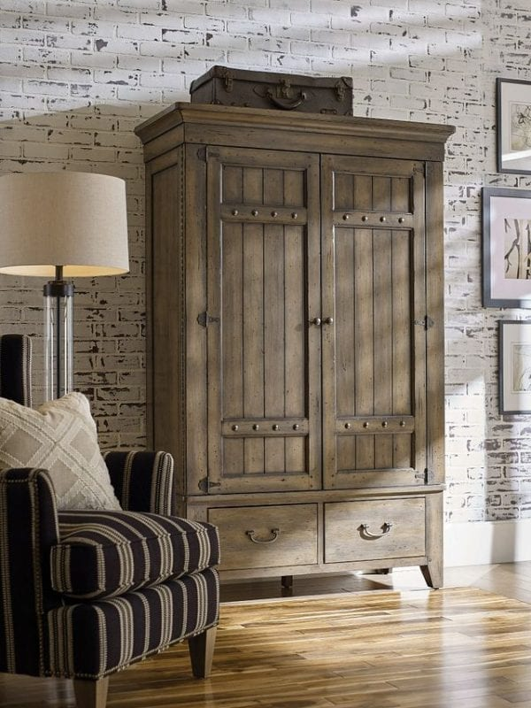 SIMMONS ARMOIRE - COMPLETE