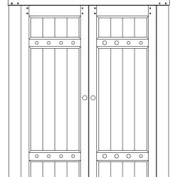 SIMMONS ARMOIRE DECK