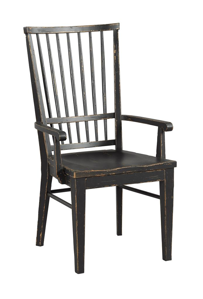 COOPER ARM CHAIR - ANVIL FINISH