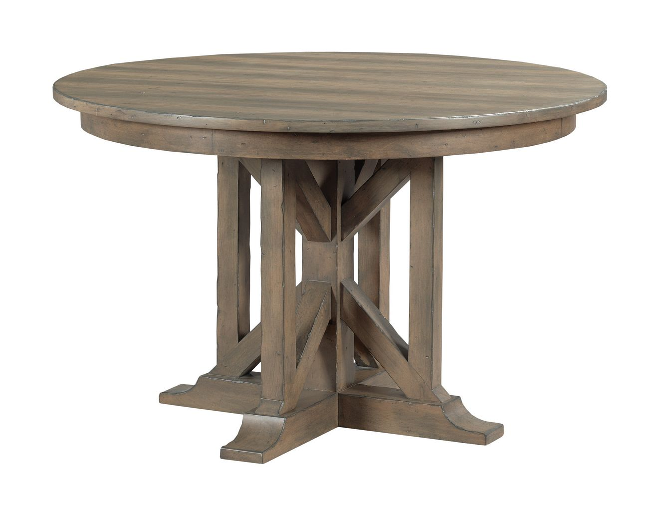 MANNING ROUND DINING TABLE - COMPLETE