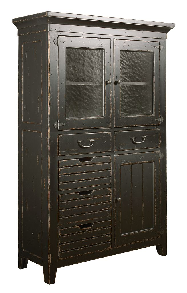 COLEMAN DINING CHEST - ANVIL FINISH