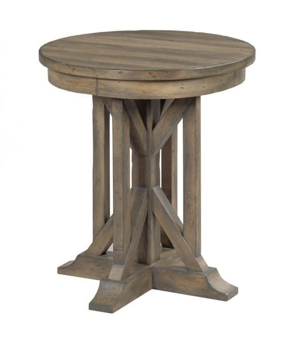 """22"""" JAMES ROUND END TABLE"""